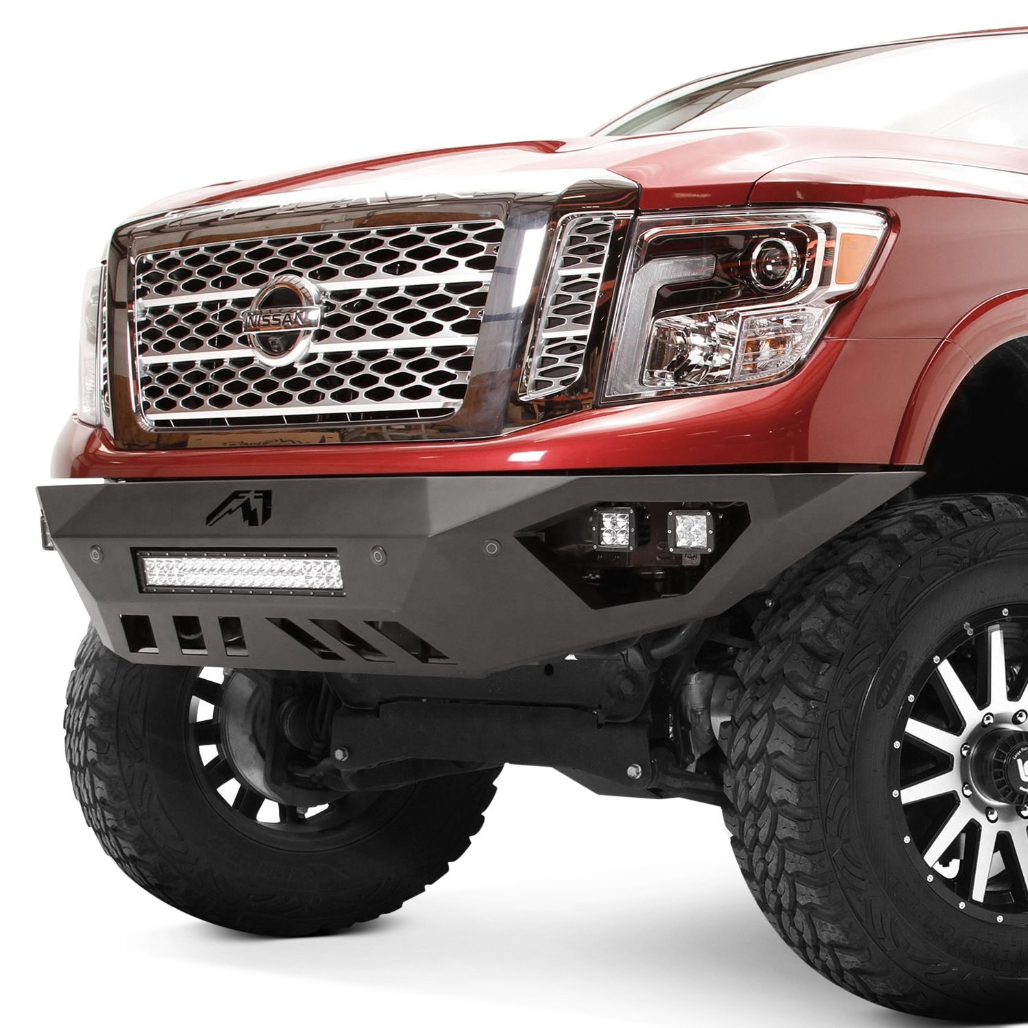 Fab Fours® - Nissan Titan XD With Front Parking Assist ...