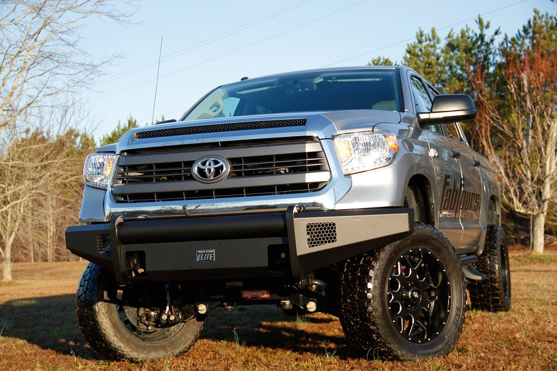 Fab Fours® - Toyota Tundra 2007 Black Steel Elite Full ...