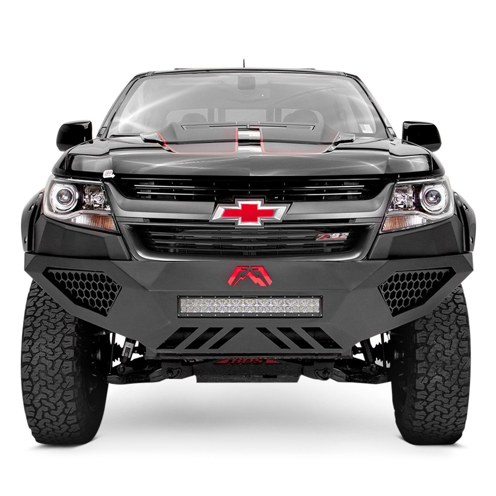 fab fours chevy colorado 2015 2016 vengeance full width front hd bumper. Black Bedroom Furniture Sets. Home Design Ideas