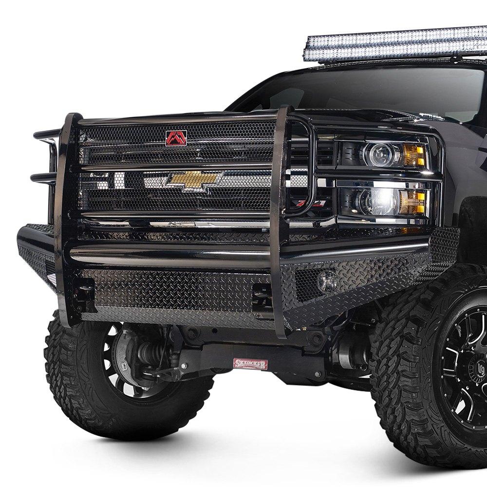 Fab Fours Chevy Silverado 2016 Black Steel Full Width
