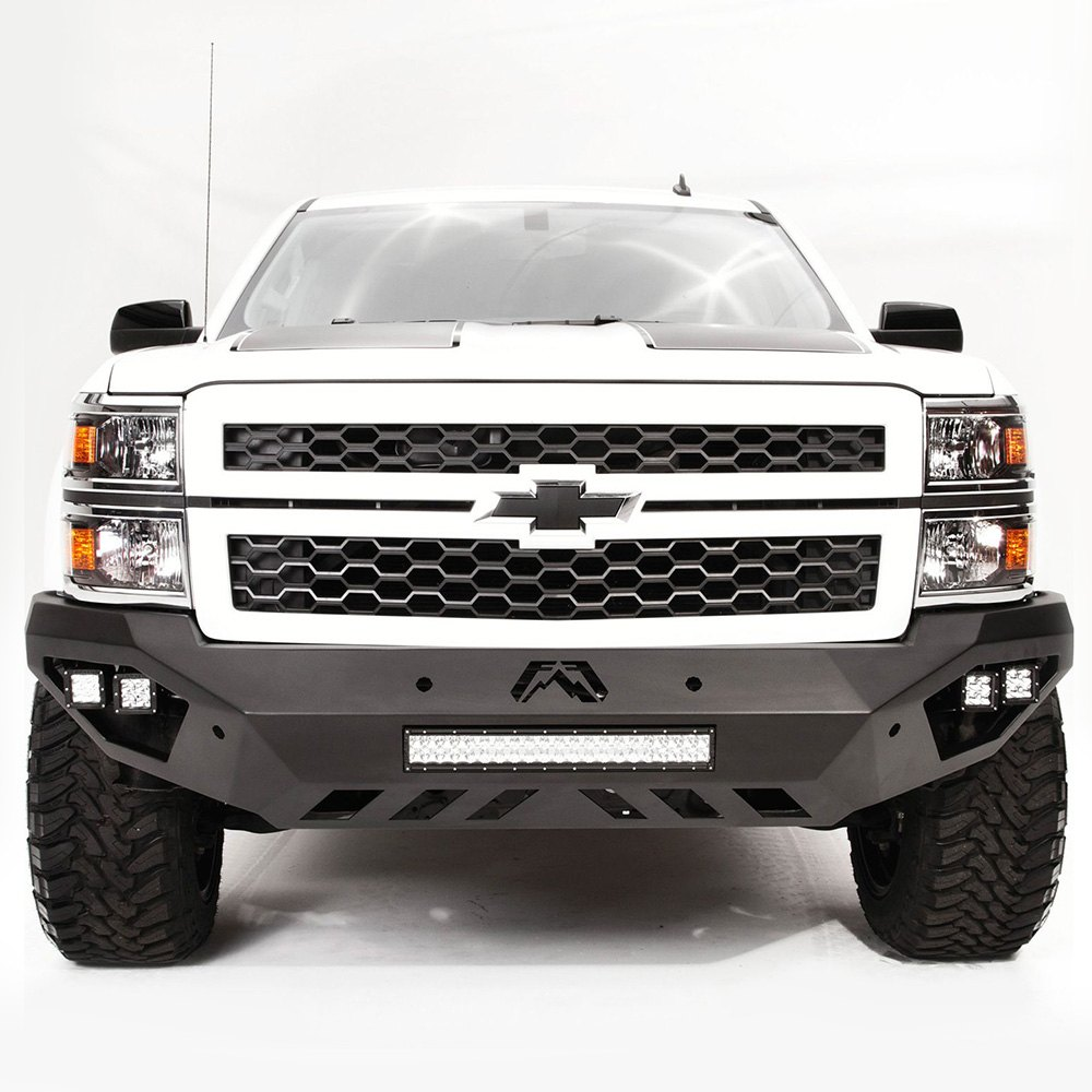 fab fours chevy silverado 2014 vengeance full width front hd bumper. Black Bedroom Furniture Sets. Home Design Ideas