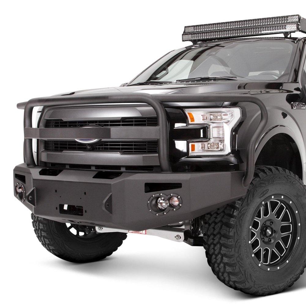 Fab Fours Ford F 150 2015 2016 Black Steel Elite Full