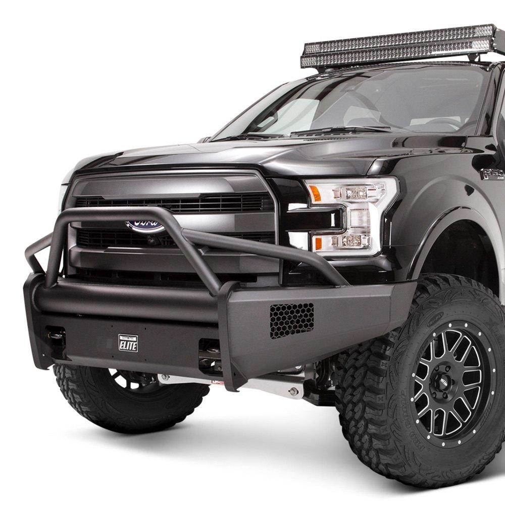 Fab Fours 174 Ford F 150 2015 2016 Black Steel Elite Full
