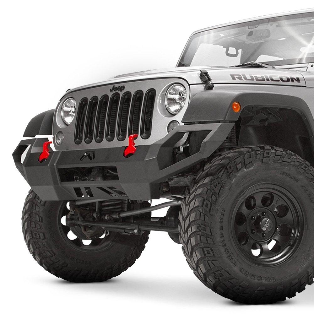 Jeep Jk Bumpers : Fab fours jeep wrangler  vengeance full width
