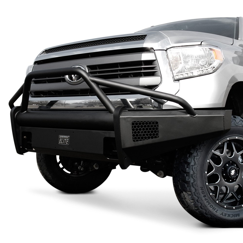 Fab Fours 174 Toyota Tundra 2007 2013 Black Steel Elite