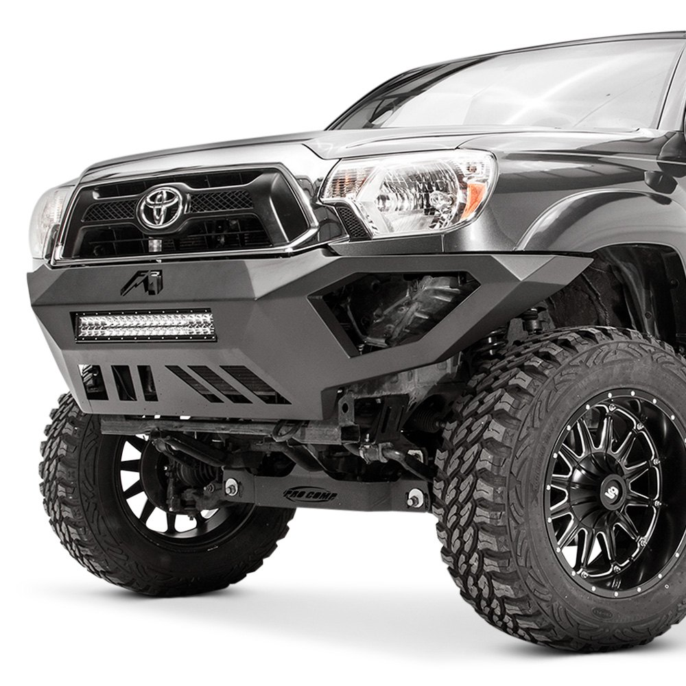 fab fours toyota tacoma 2012 2015 vengeance full width front hd bumper. Black Bedroom Furniture Sets. Home Design Ideas