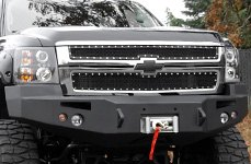 Fab Fours™ - Front Bumper on Chevy Silverado
