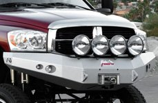 Fab Fours™ - Front Bumper on Dodge Ram 3500