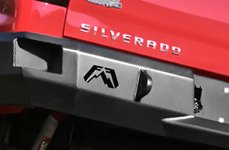 Chevy Silverado Fab Fours™ Rear Bumper