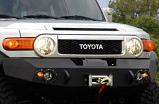 Fab Fours™ - Front Bumper on Toyota FJ Cruiser