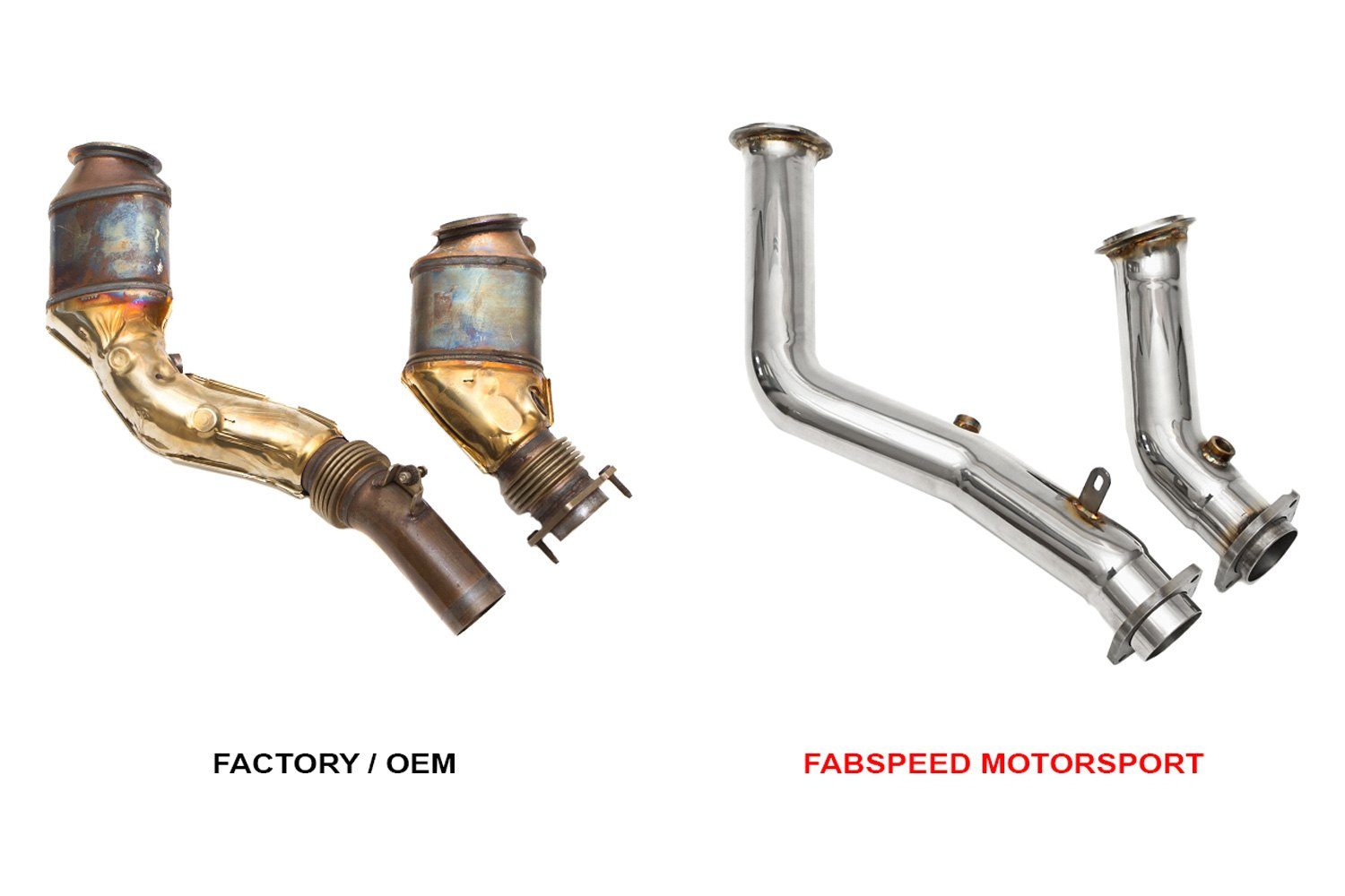 fabspeed fs bmw f8x pcbdp primary catless downpipes. Black Bedroom Furniture Sets. Home Design Ideas