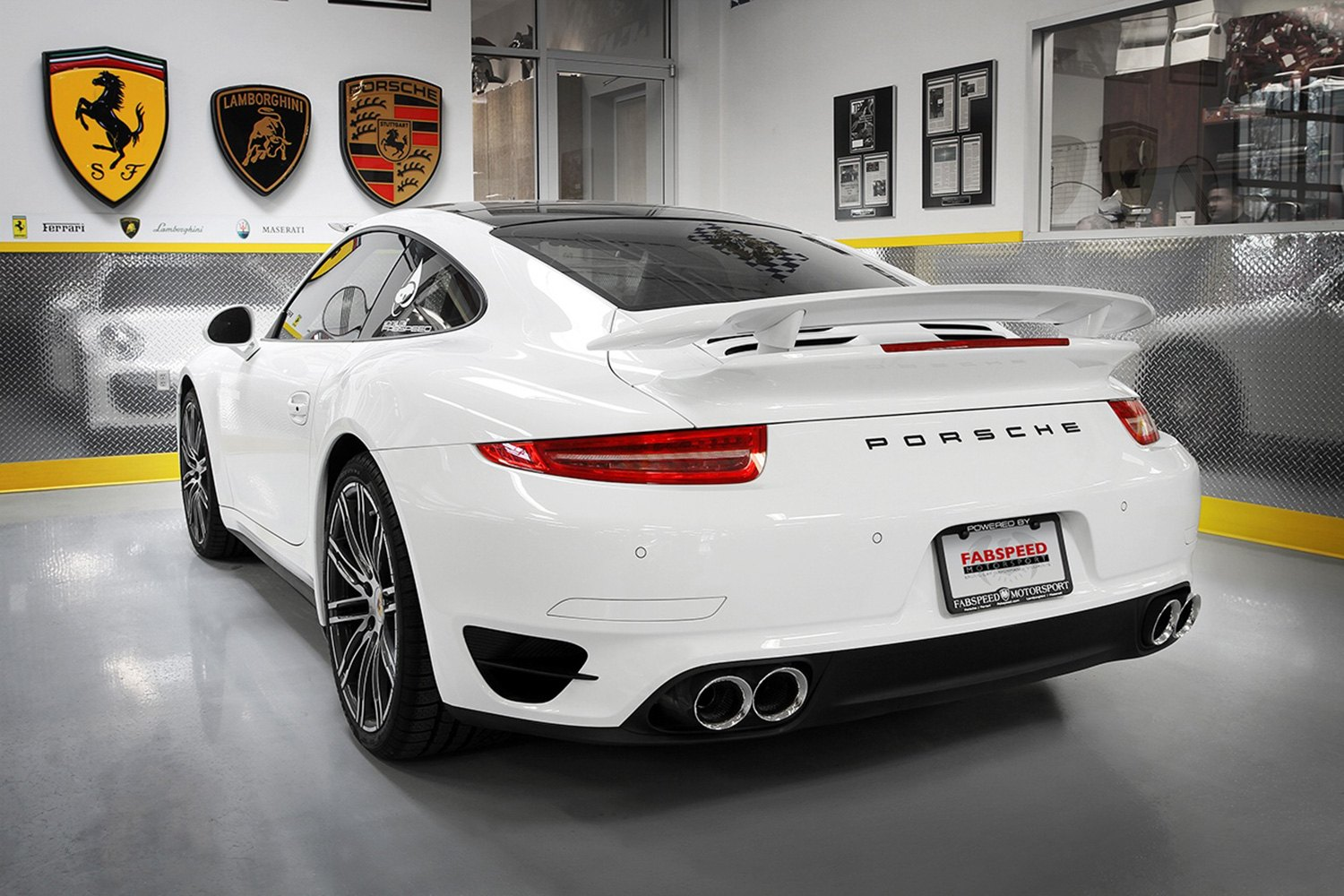 Fabspeed 174 Porsche 911 Series Turbo Turbo S With