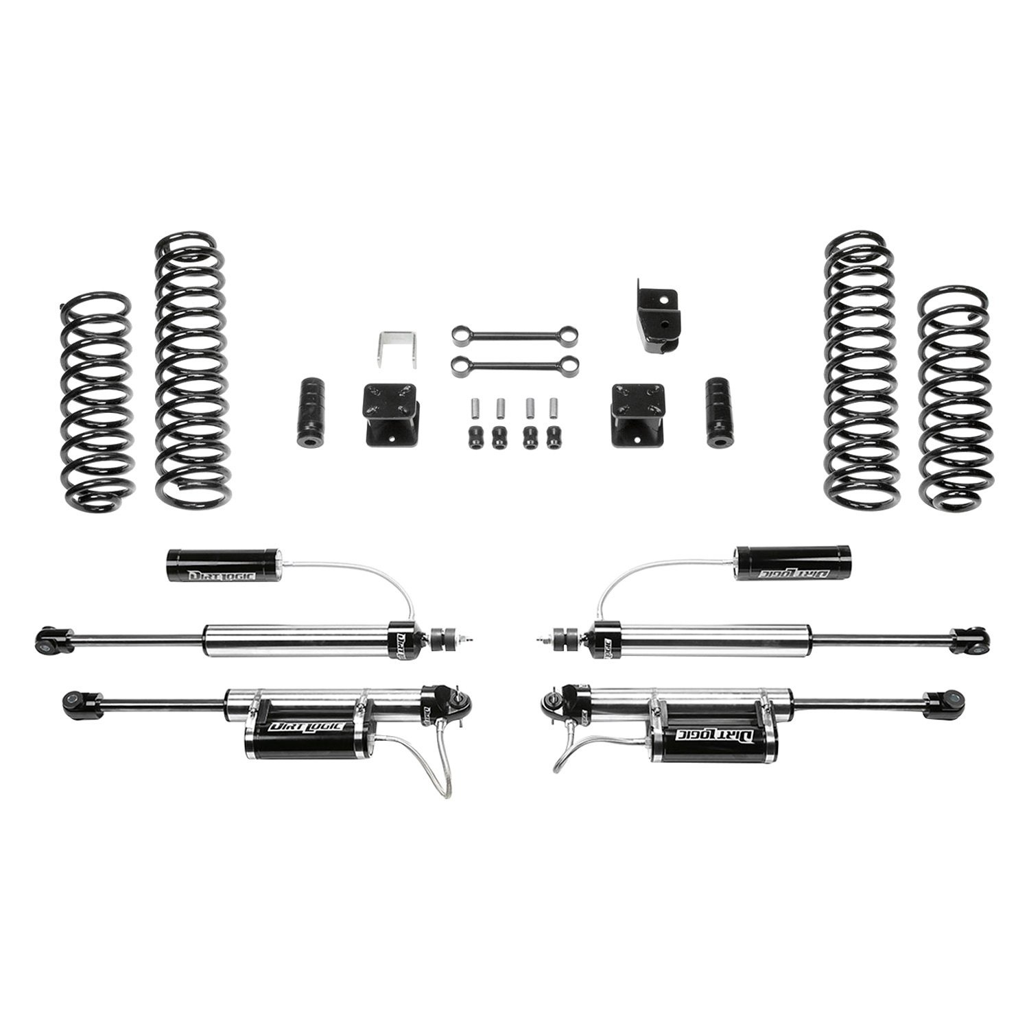 Fabtech® - Sport II Front and Rear Replacement Component Box  sc 1 st  CARiD.com & Fabtech® FTS24139 - 3