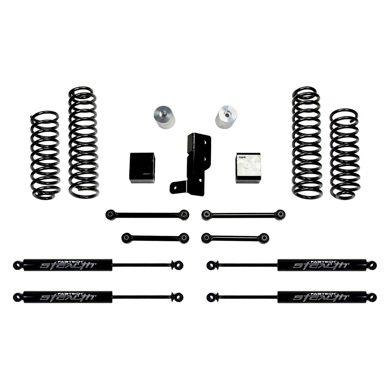 Fabtech® - Sport Front and Rear Suspension Lift Kit  sc 1 st  CARiD.com & Fabtech® K4107M - 3