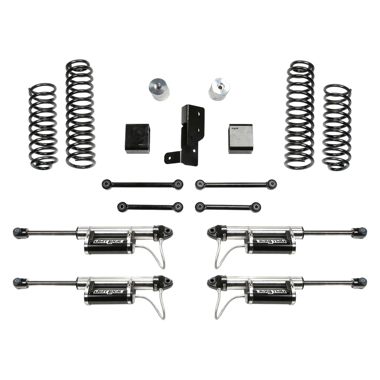 Fabtech Lift Kits >> Details About For Jeep Wrangler 18 Fabtech 3 X 3 Sport Front Rear Suspension Lift Kit