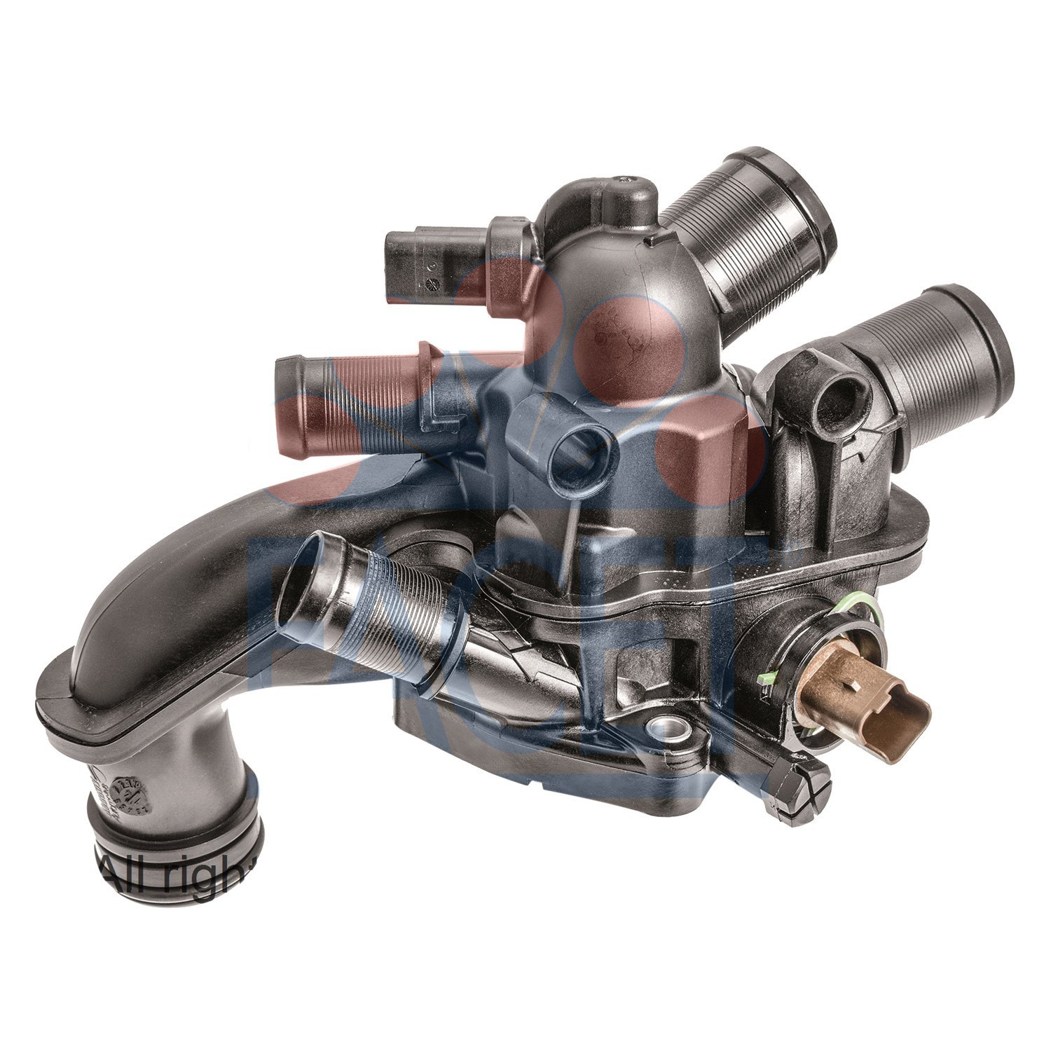 Facet® - Engine Coolant Thermostat and Housing Assembly