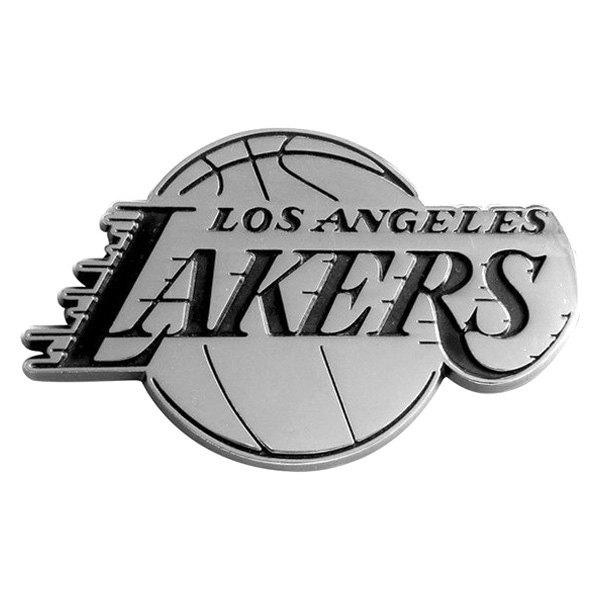 Fanmats 174 14797 Quot Los Angeles Lakers Quot Chrome Nba Emblem