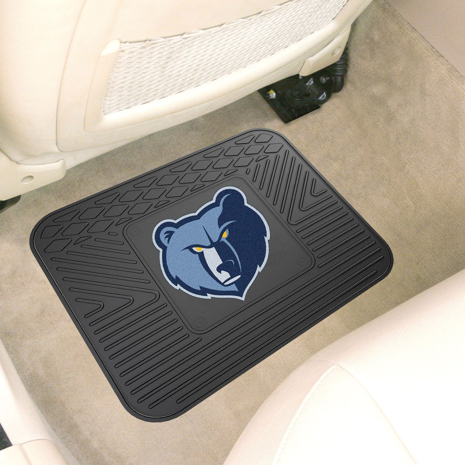 Fanmats 174 10016 2nd Row Heavy Duty Vinyl Car Mat With
