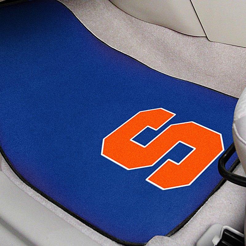 Blue Carpet Mats With Syracuse University