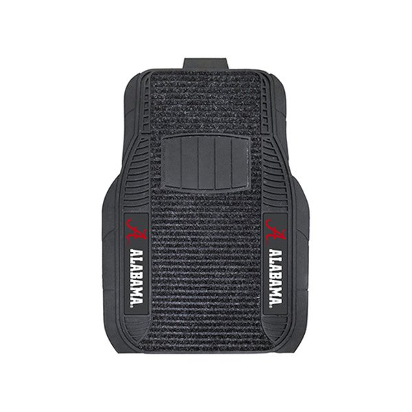 Fanmats 174 13491 1st Row Black Deluxe Vinyl Car Mats With