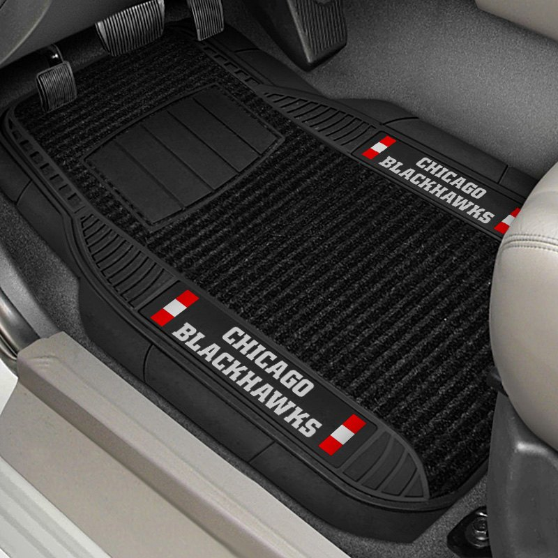 Fanmats 13855 1st Row Deluxe Vinyl Car Mats With Chicago