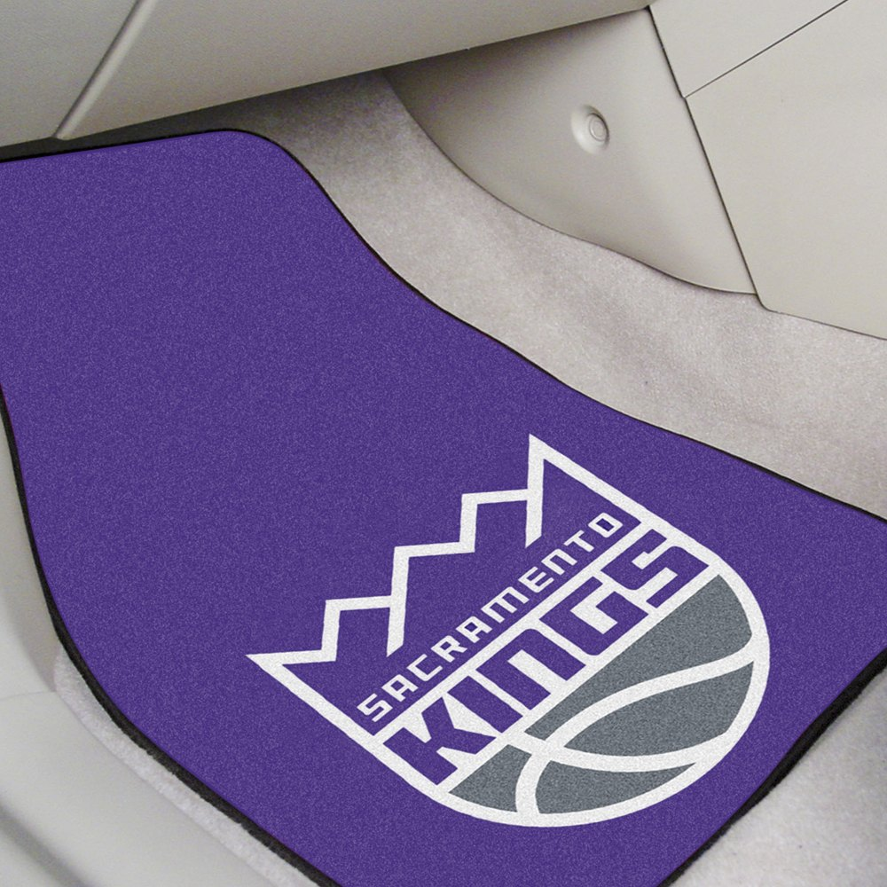 fanmats 9397 purple carpet mats with sacramento kings logo. Black Bedroom Furniture Sets. Home Design Ideas