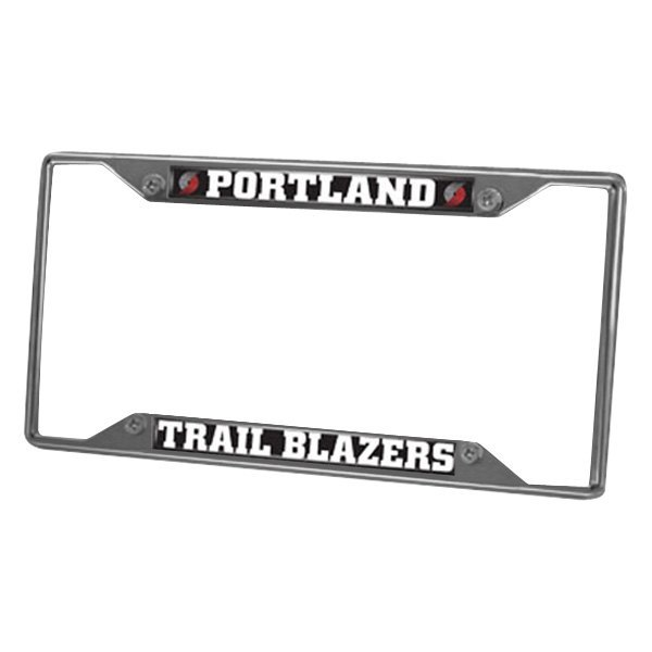 Sport NBA Chrome License Plate Frame With