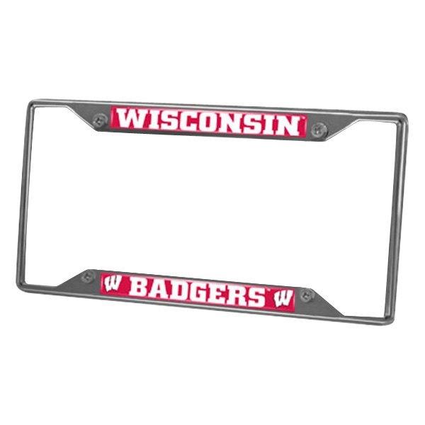 FanMats® - Collegiate Chrome License Plate Frame