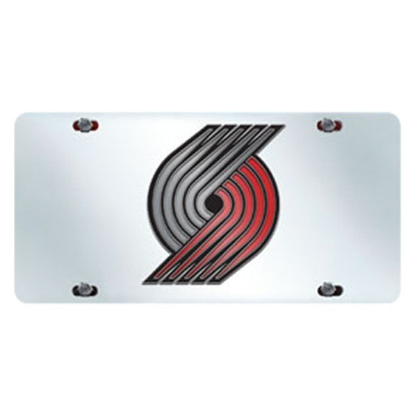 Sport NBA Chrome License Plate With