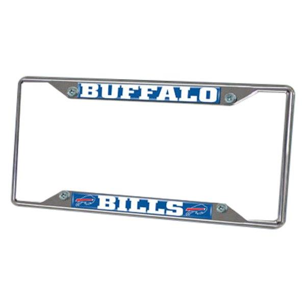 Fanmats 174 Sport Chrome License Plate Frame