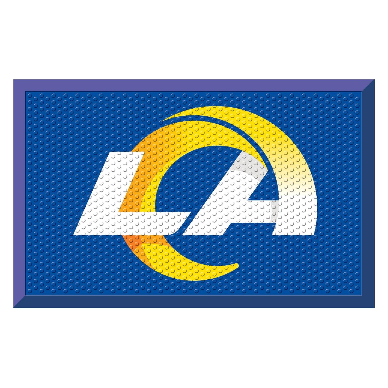 FanMats® St Louis Rams Logo on Door Scraper Mat
