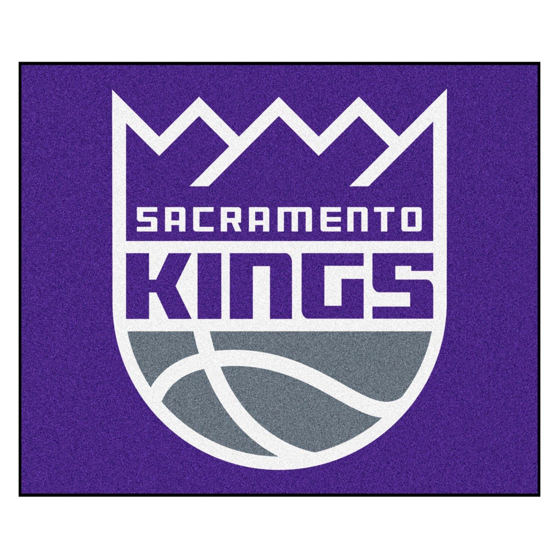 Fanmats 174 19474 Sacramento Kings Logo On Tailgater Rug