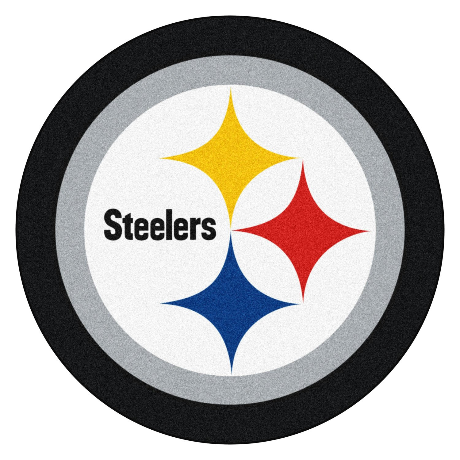 Pittsburgh Steelers Mascot: Pittsburgh Steelers Logo On Mascot Mat
