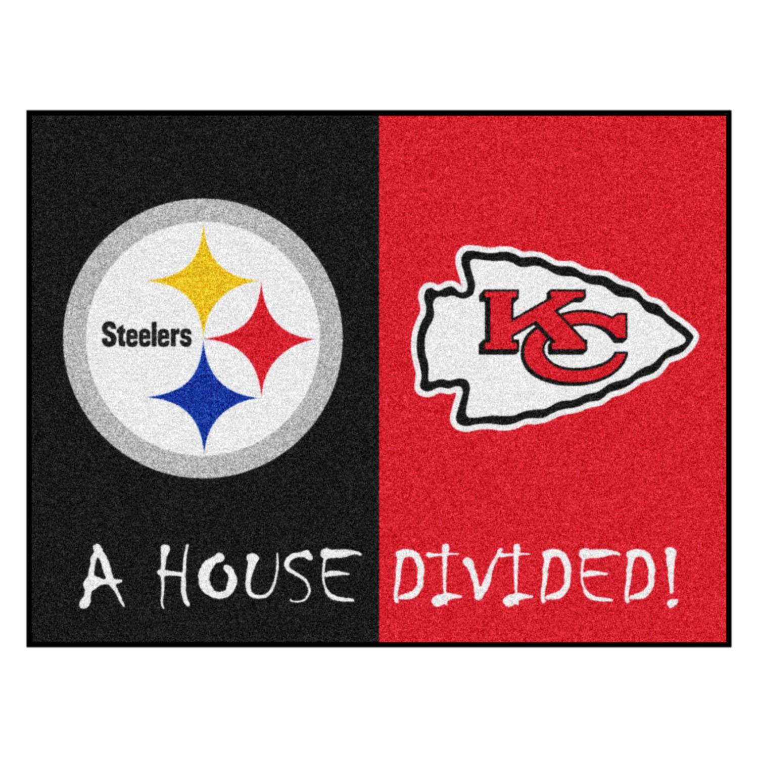 ffb212e6 FanMats® - NFL House Divided Floor Mats