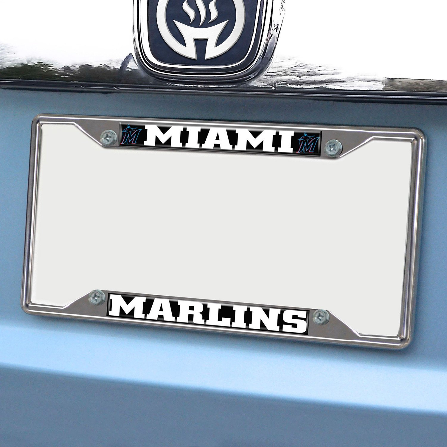 Fanmats 174 26627 Sport Mlb Chrome License Plate Frame With