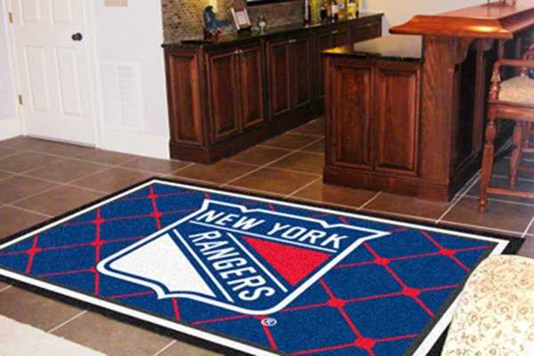 Fanmats 10478 new york rangers on 5x8 area rug for Area rugs new york