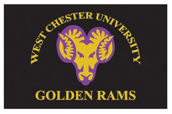 Fanmats 174 10718 West Chester University Golden Rams Logo