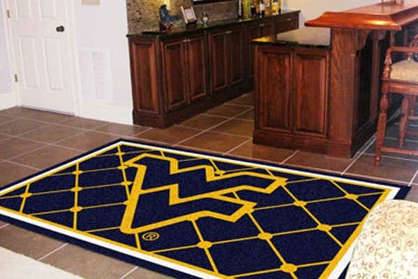 Fanmats 174 11930 West Virginia University On 5x8 Area Rug