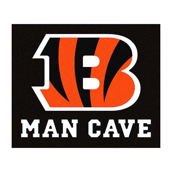 Man Cave Signs Canadian Tire : Fanmats cincinnati bengals logo on man cave