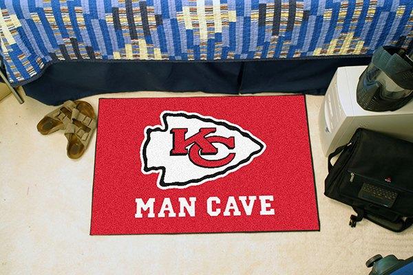 Man Cave Kansas City : Fanmats kansas city chiefs logo on man cave
