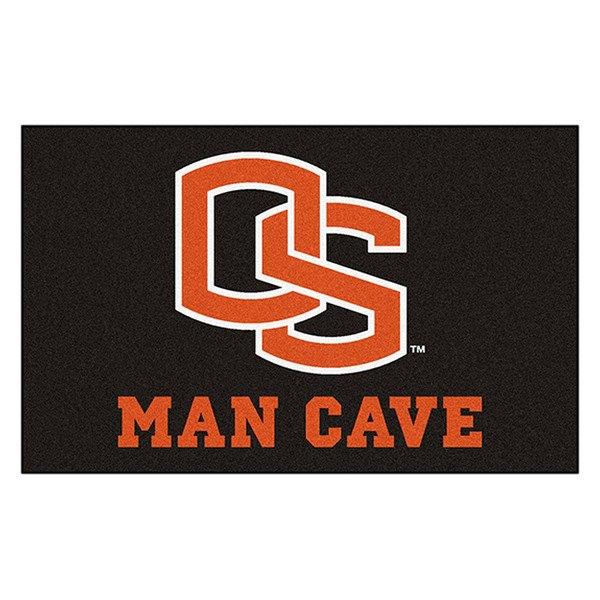 Man Cave Logo : Fanmats� oregon state university logo on man cave