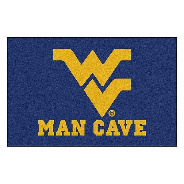 Man Cave Logo : Fanmats� west virginia university logo on man cave