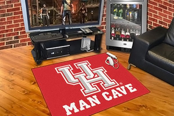 Man Cave York University : Fanmats university of houston logo on man cave