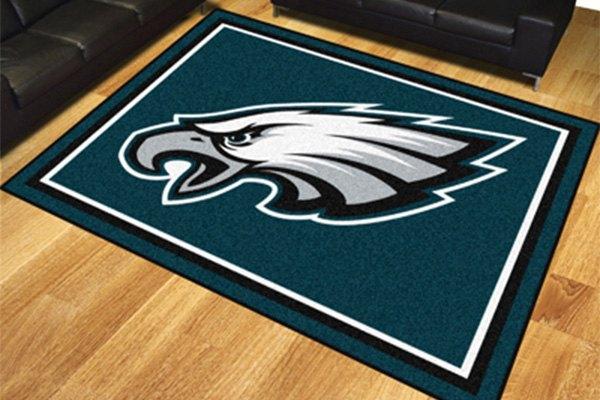 Fanmats 174 17494 Philadelphia Eagles On 8x10 Area Rug