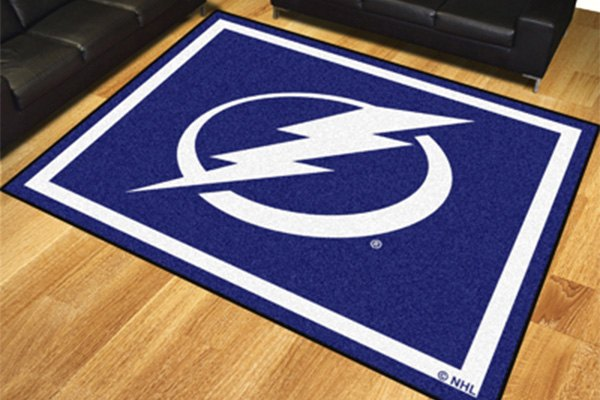 fanmats 174 17528 tampa bay lightning on 8x10 area rug 87753