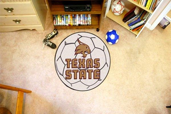 Fanmats 174 18108 Texas State University San Marcos Logo On