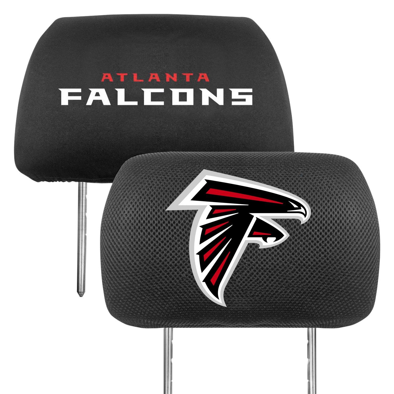 Fanmats 174 12489 Headrest Covers With Atlanta Falcons Logo