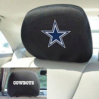 Fanmats 174 12496 Dallas Cowboys Logo On Headrest Covers