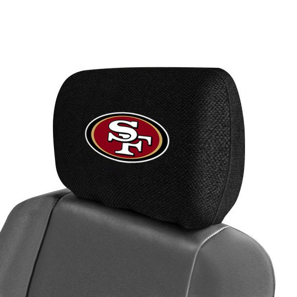 Fanmats 174 12514 Headrest Covers With San Francisco 49ers Logo