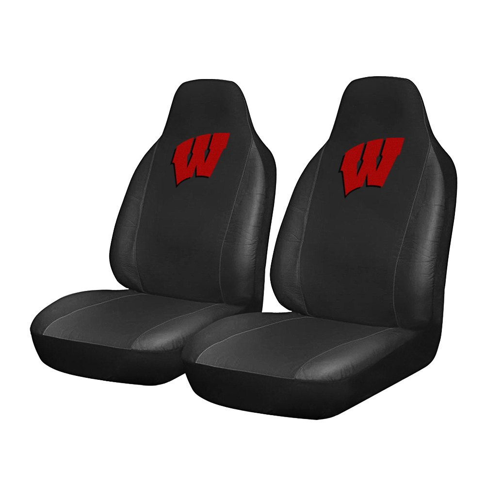 fanmats 15089 university of wisconsin logo on seat cover. Black Bedroom Furniture Sets. Home Design Ideas